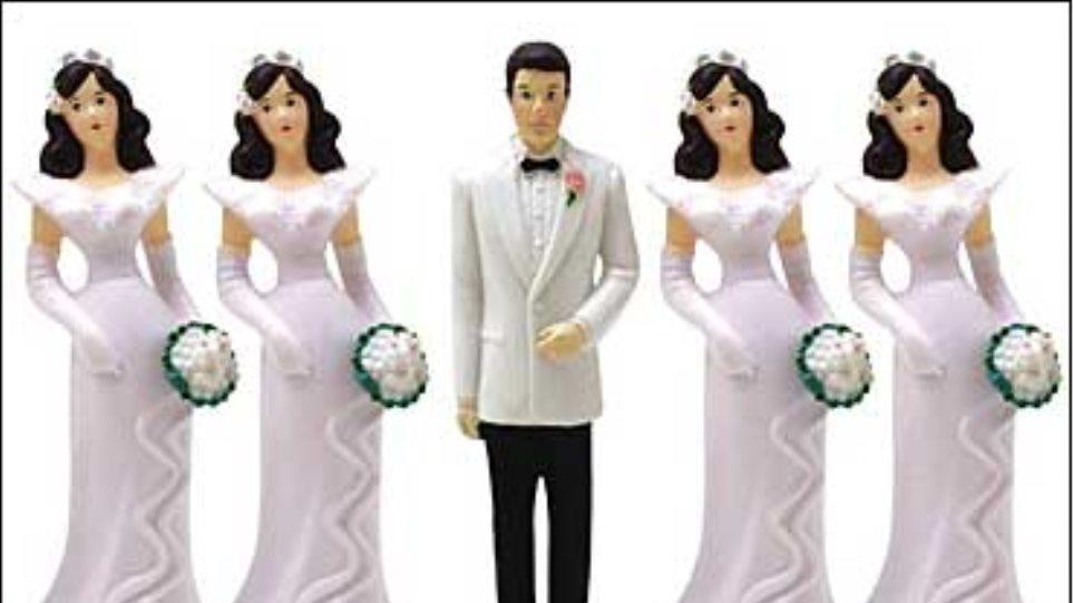 «Δαγκωτό» στην πολυγαμία οι Τούρκοι