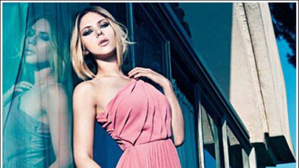 Scarlett Johansson: Ποζάρει για τα ρούχα Mango