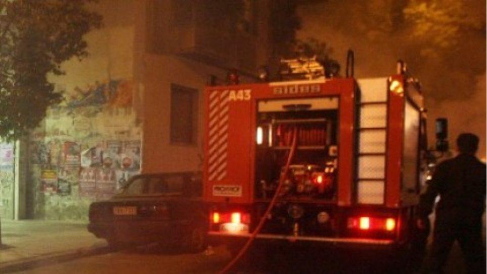 Ενας νεκρός σε πυρκαγιά στη Θεσσαλονίκη
