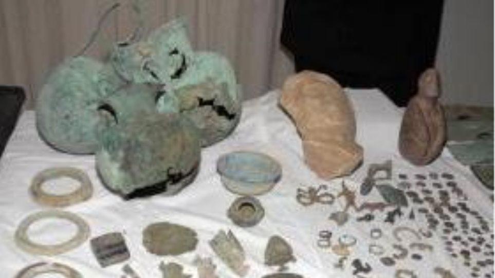 Σύλληψη 55χρονου για αρχαιοκαπηλία στη Δράμα
