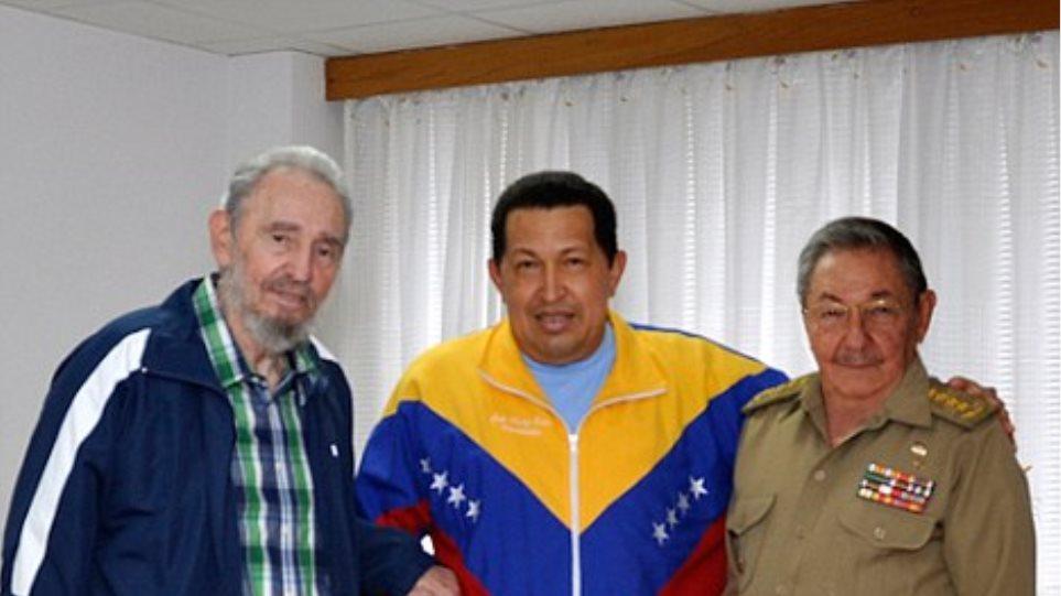 Ο Φιντέλ Κάστρο προβλέπει ότι ο Τσάβες θα νικήσει τον καρκίνο