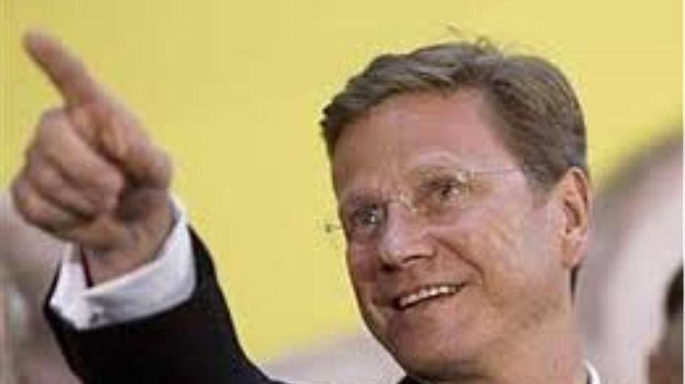 Βεστερβέλε: Η Γερμανία αναγνωρίζει τις τεράστιες προσπάθειες της Ελλάδας