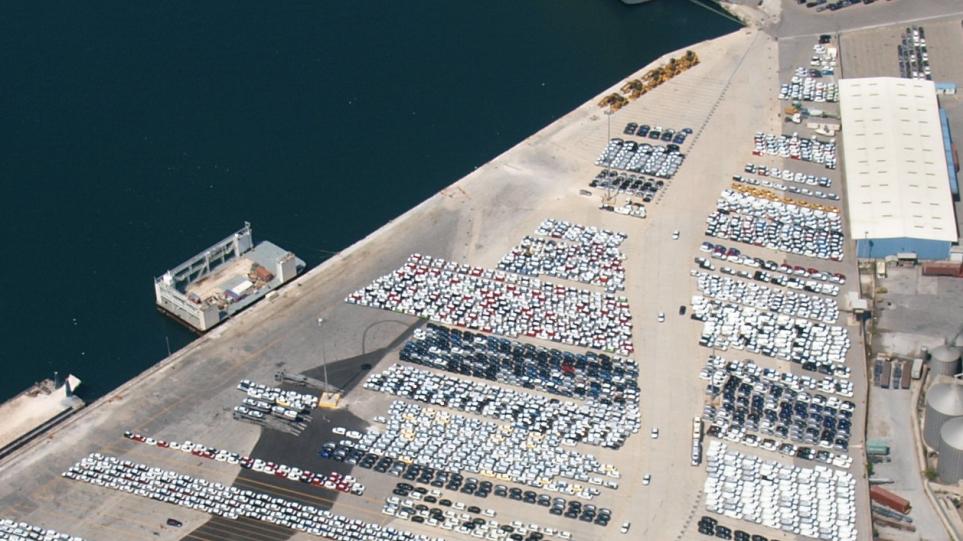Το μεγαλύτερο car terminal της Μεσογείου στον Πειραία!