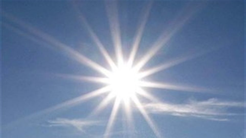 High temperatures for the weekend
