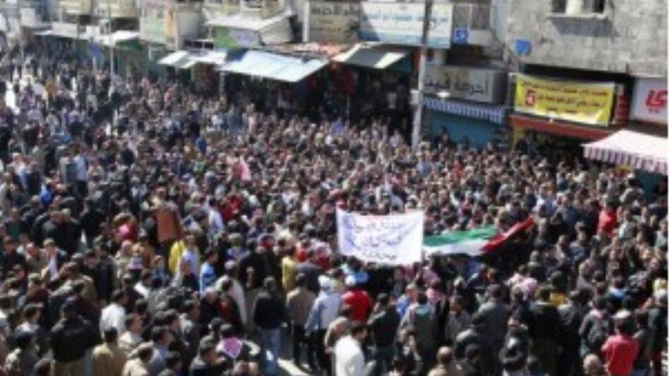 Μεγάλη αντικυβερνητική διαδήλωση στην Ιορδανία
