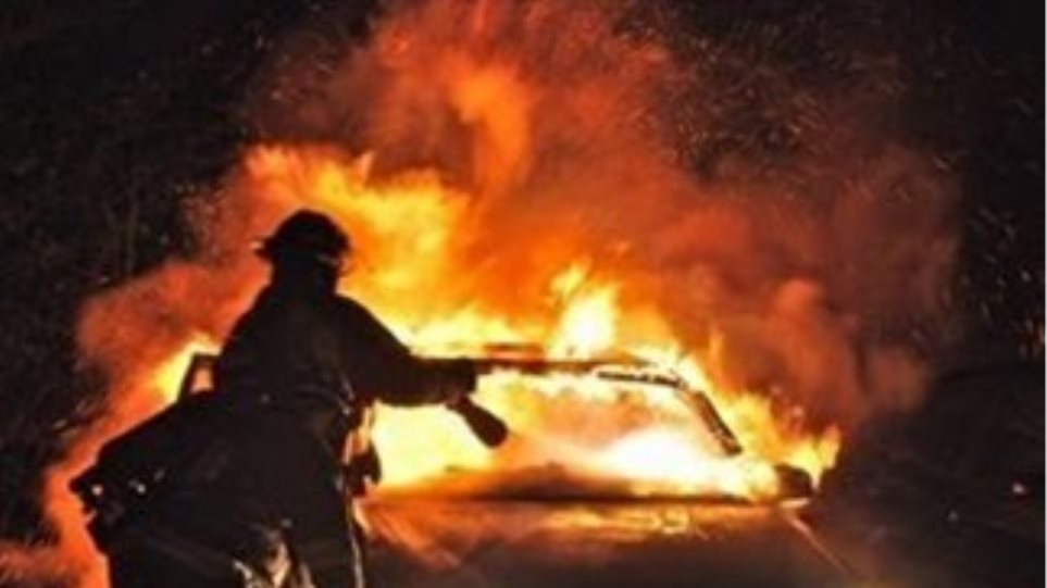 Ζημιές σε 12 οχήματα του ΟΤΕ στο Μαρούσι