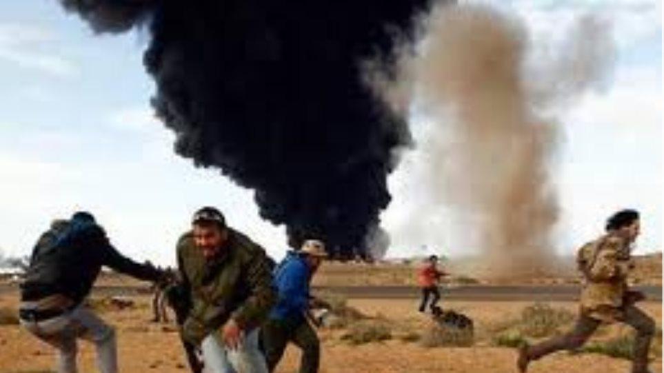 Αεροπορική επιδρομή ισραηλινού αεροσκάφους ανατολικά της πόλης της Γάζας