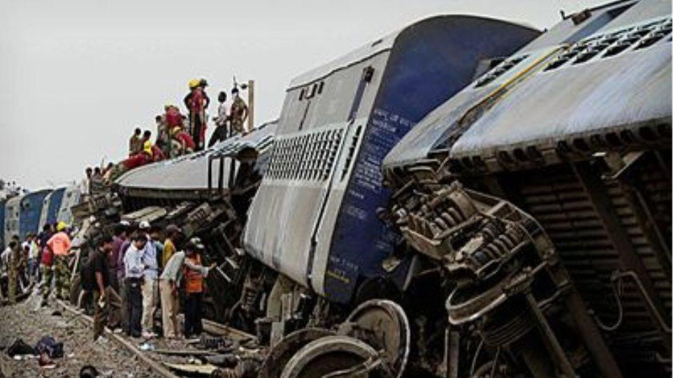 Δεύτερος εκτροχιασμός τρένου σε ένα 24ωρο στην Ινδία