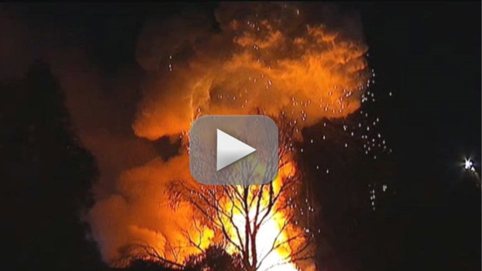 Πυρκαγιά σε χημική βιομηχανία στην Αυστραλία