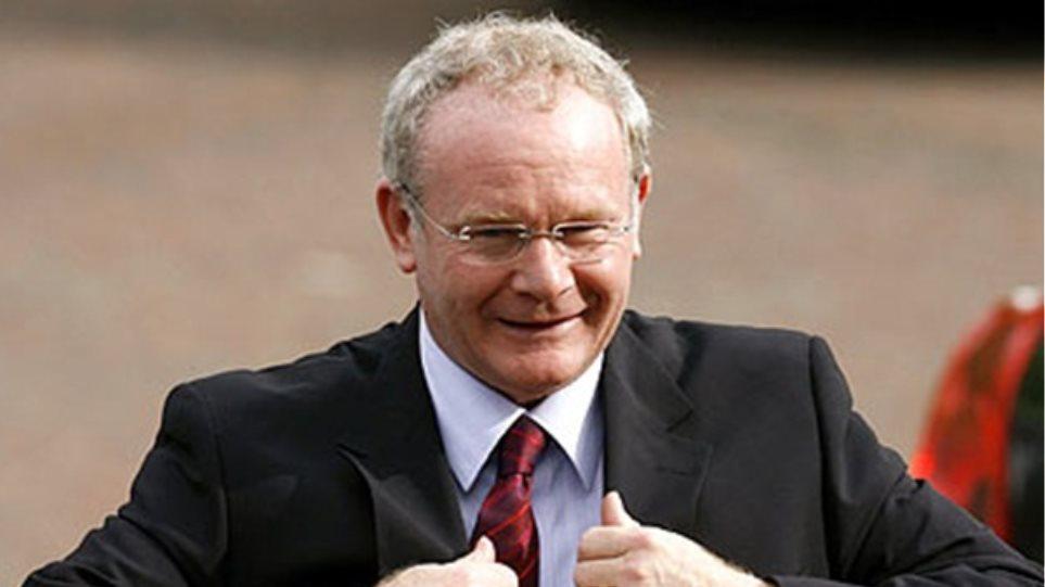 Την προεδρία της Ιρλανδίας θα διεκδικήσει ο Μάρτιν ΜακΓκίνες