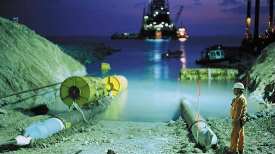 Μεγαθήρια στον υποθαλάσσιο αγωγό του South Stream