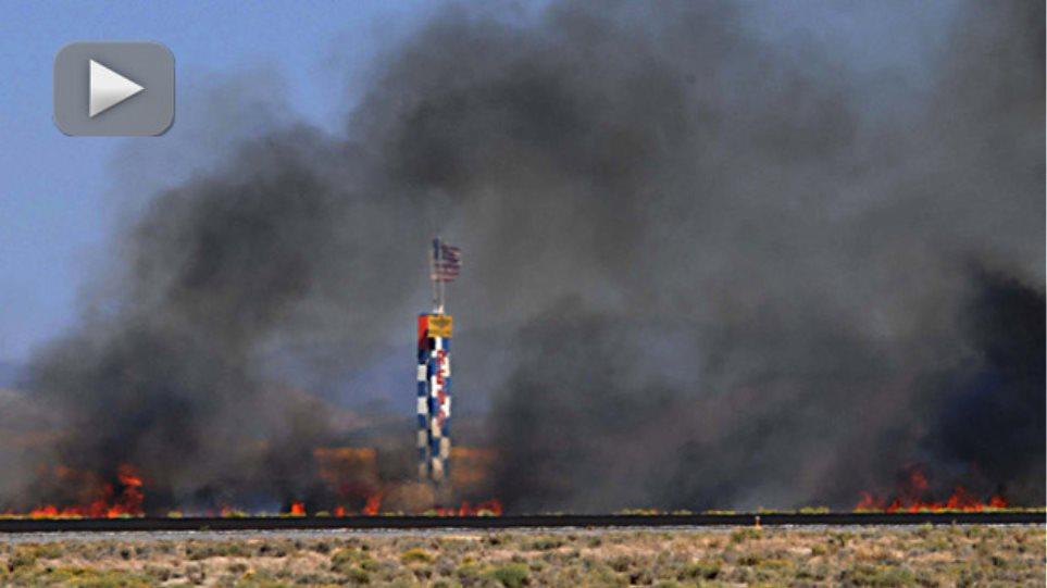 Στους 9 οι νεκροί από τη συντριβή αεροσκάφους κατά τη διάρκεια επίδειξης