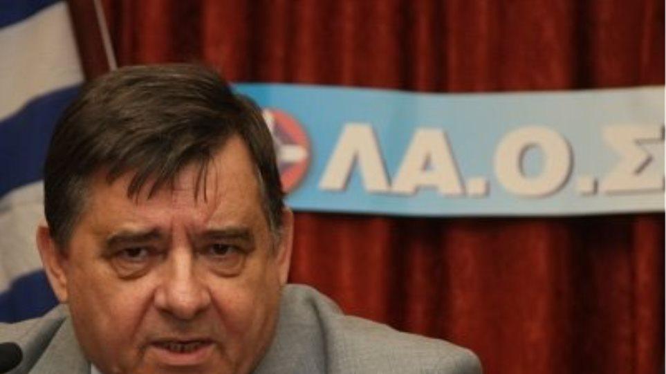ΛΑΟΣ: Μόνη λύση τώρα είναι οι εκλογές