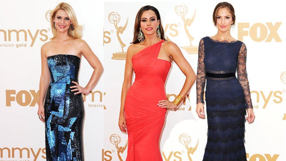 Τι φόρεσαν οι σταρ στα βραβεία Emmy