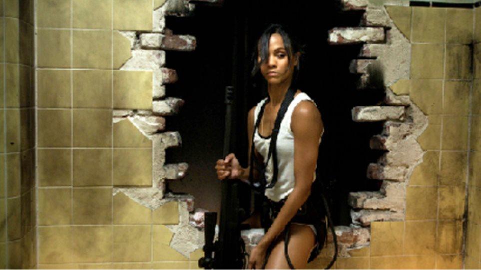 Zoe Saldana - Φονικό όπλο