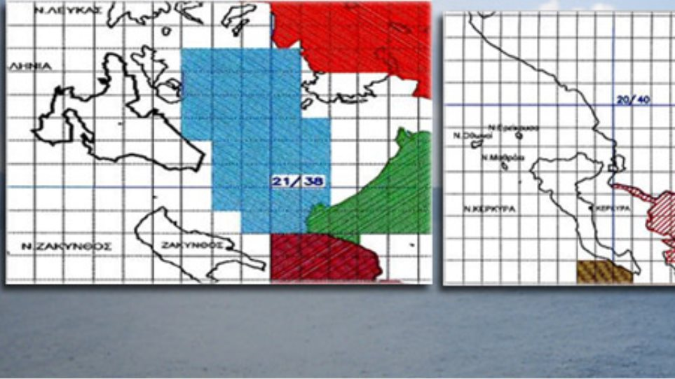 Research maps for oil drilling in Greece revealed