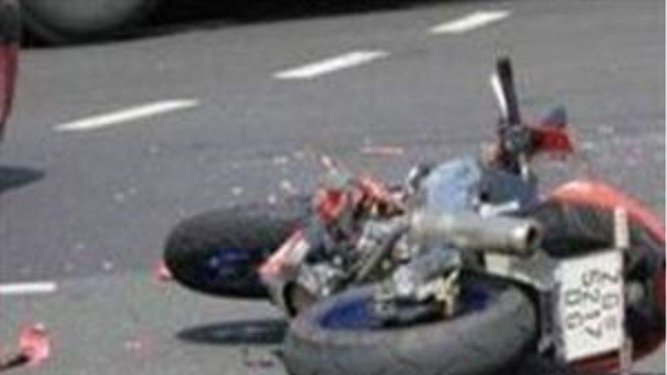 Τράκαρε με κλεμμένη μοτοσυκλέτα στο Ηράκλειο
