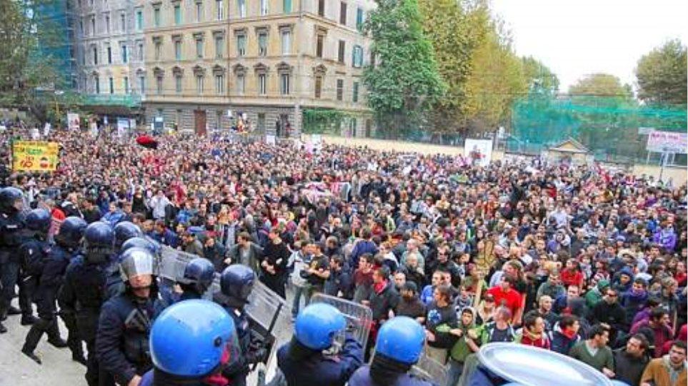 Κινητοποιήσεις για την παιδεία στην Ιταλία