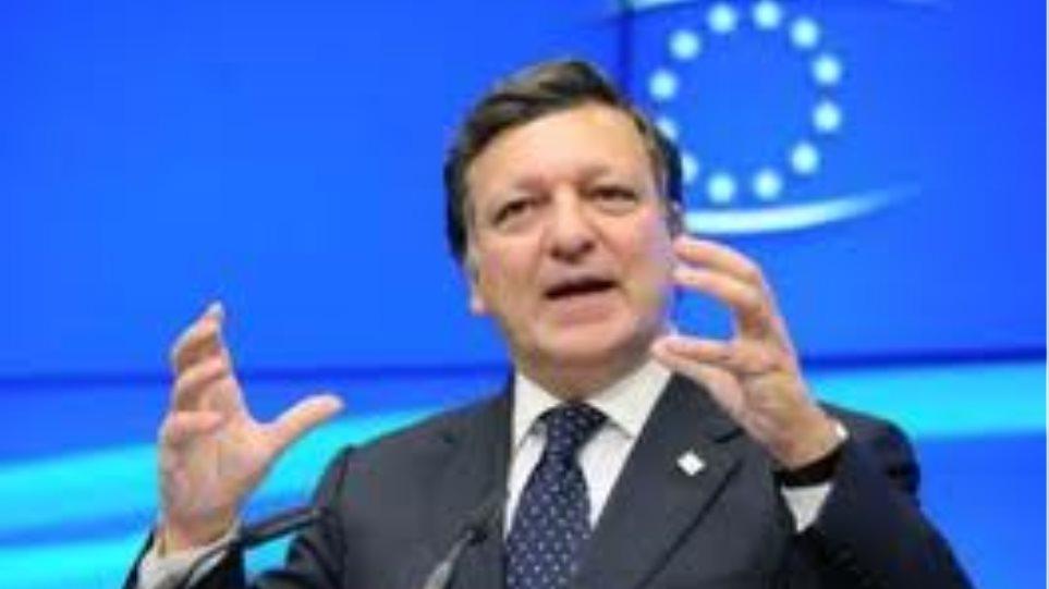 Μπαρόζο: «Ντόμινο στην ΕΕ από μια ελληνική χρεοκοπία»