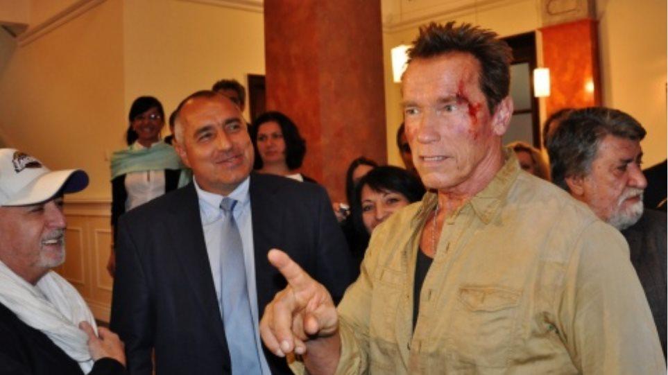 """Στη Βουλγαρία ο Σβαρτζενέγκερ για τα γυρίσματα της ταινίας """"Expendables"""""""