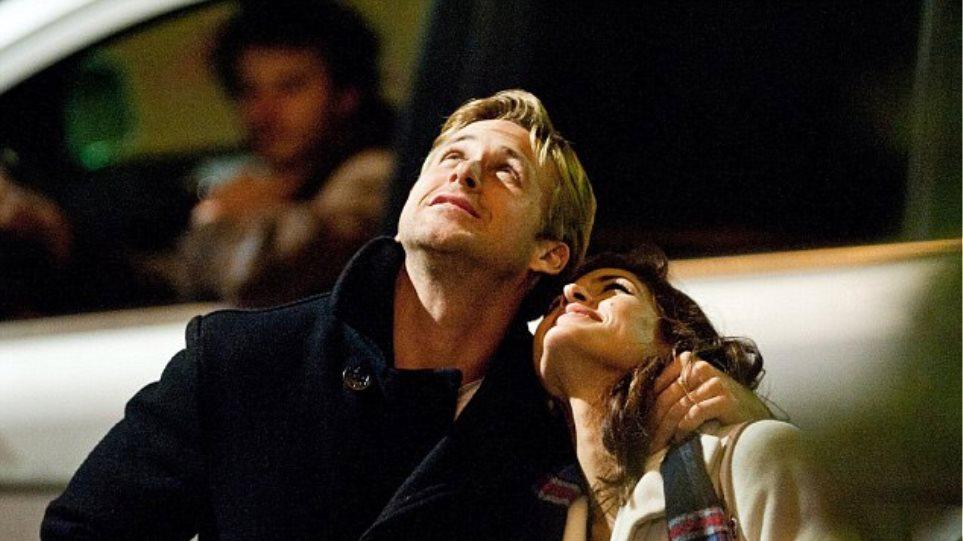 O Ryan Gosling, η Eva Mendes και το κόκκινο τριαντάφυλλο