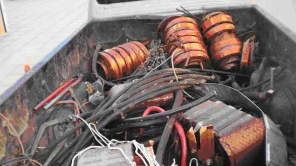 Τεράστιες ζημιές στη ΔΕΗ από τους κυνηγούς χαλκού