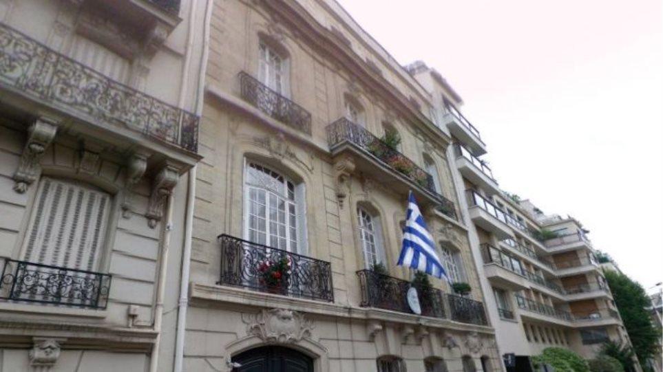 Εκρηκτικός μηχανισμός στην ελληνική πρεσβεία στο Παρίσι