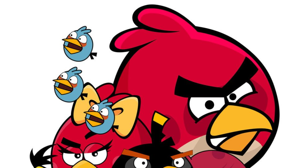 Φανατικοί των Angry Birds οι σαραντάρηδες!