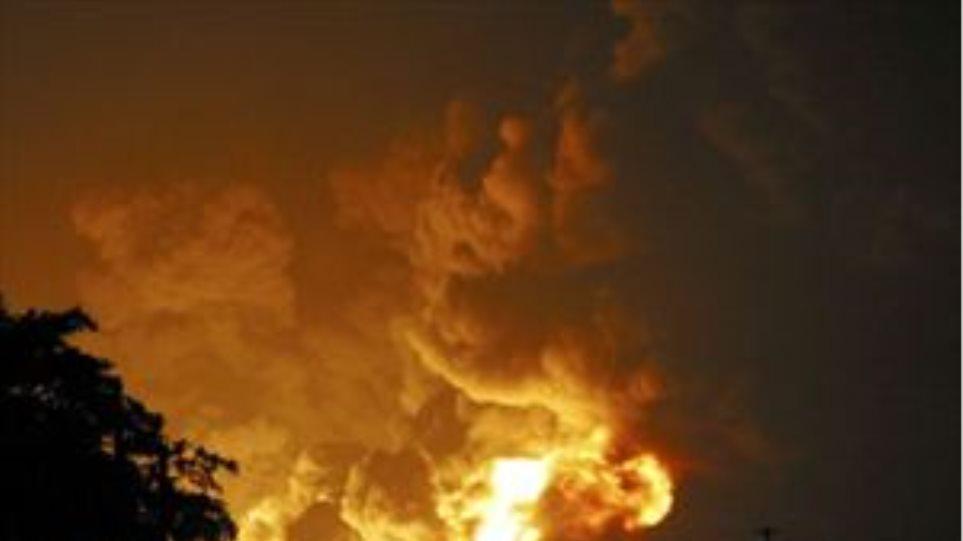 Φωτιά στις Βουκολιές Χανίων