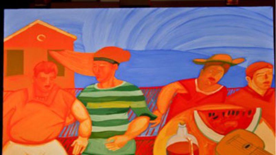 Κώστας Σπυρόπουλος: Έκθεση ζωγραφικής στο Ίδρυμα Μιχάλης Κακογιάννης