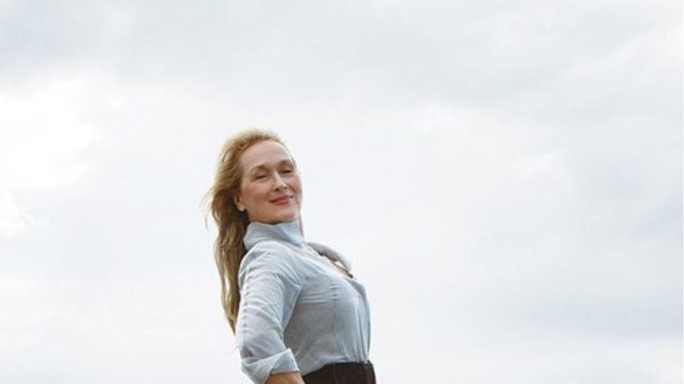 Το πρώτο εξώφυλλο της Meryl Streep στην «Vogue»