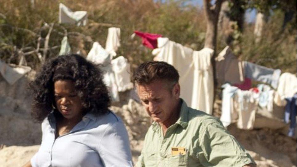 Στους σεισμοπαθείς της Αϊτής Oprah Winfrey και Sean Penn
