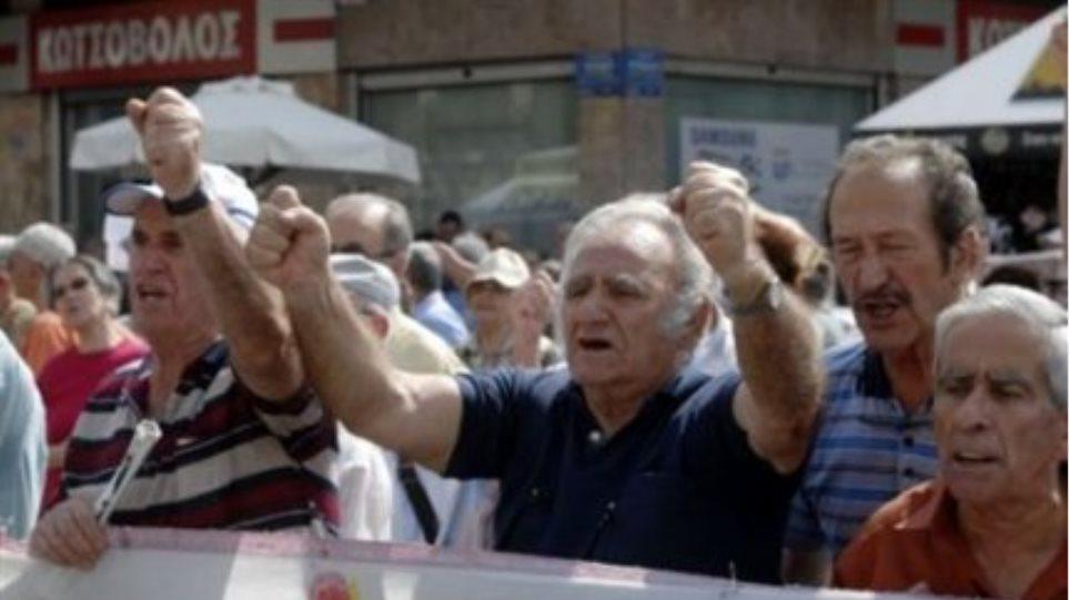 Στους δρόμους και πάλι οι συνταξιούχοι της Κρήτης