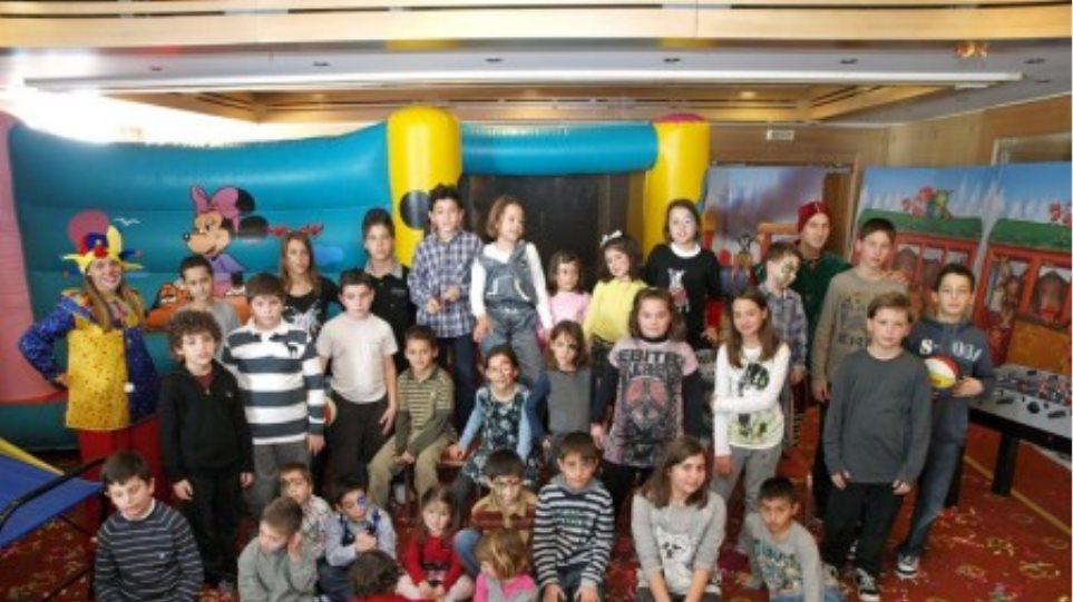 Γιορτή για παιδιά στο Εργατικό Κέντρο Λάρισας