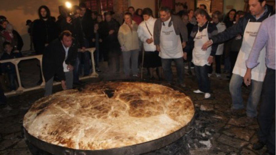 Φρατζόλα 230 κιλών για ρεκόρ Γκίνες στα Τρίκαλα