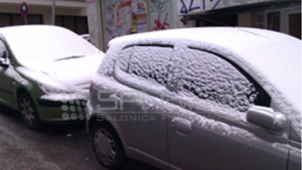 Σε επιφυλακή ο δήμος Θεσσαλονίκης λόγω χιονόπτωσης