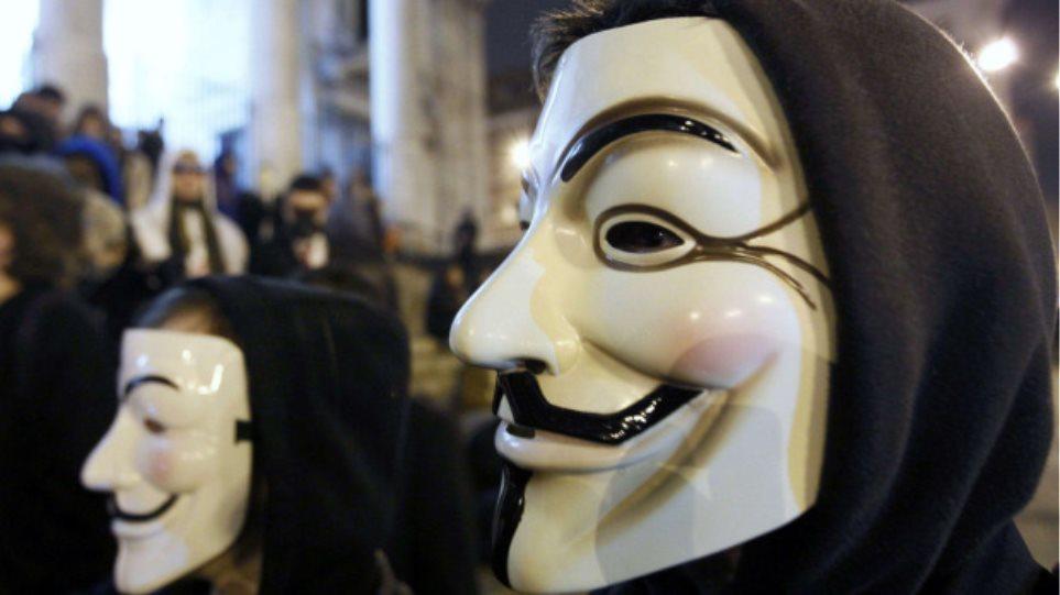 Στα «δίχτυα» των Anonymous FBI και Scotland Yard!