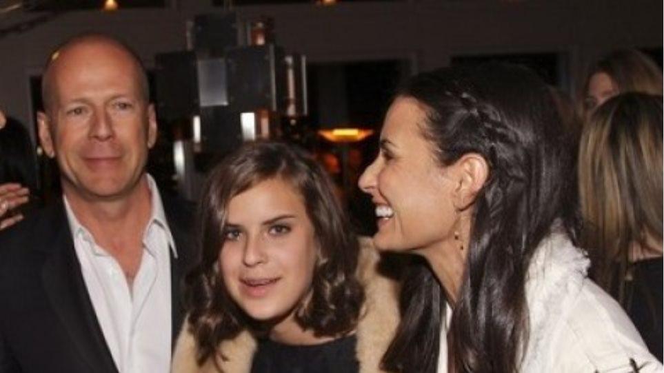 Έχασε τα γενέθλια της κόρης της η Demi Moore