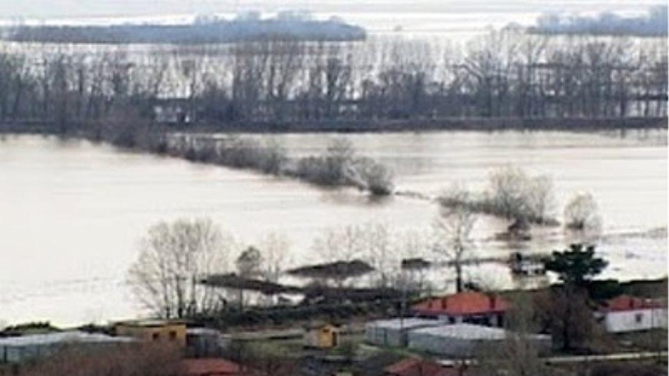 Πλημμύρες από τη Βουλγαρία απειλούν ελληνικά χωριά στη Θράκη