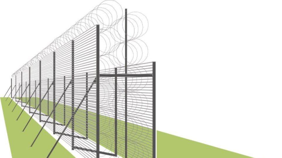 Ξεκινούν τα έργα για τον φράχτη στον Έβρο
