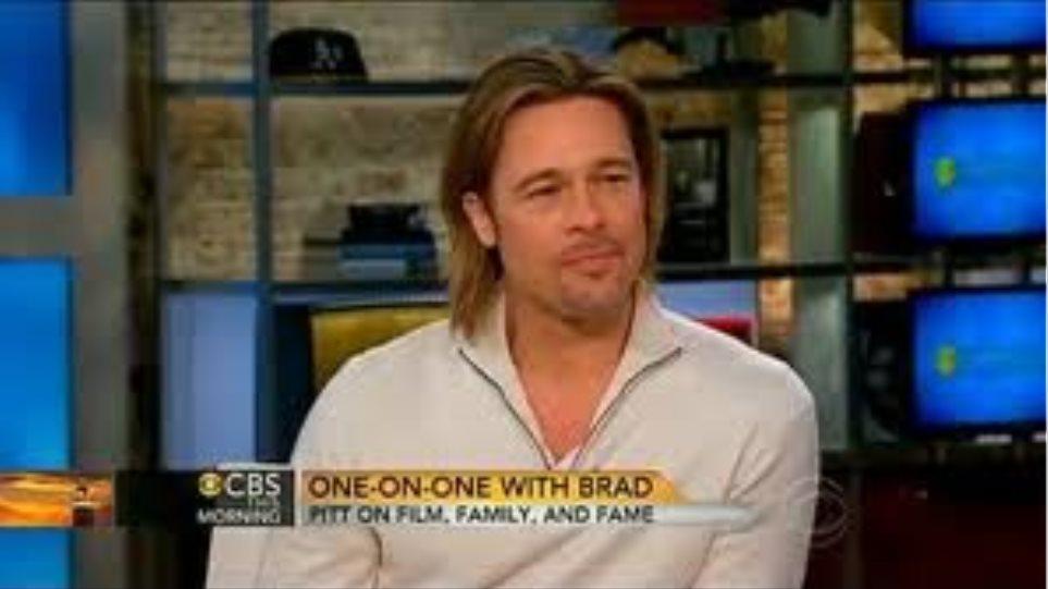 Brad Pitt: «Η Angelina παραμένει κακό κορίτσι»