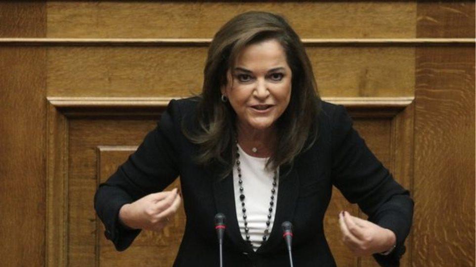 Ντ. Μπακογιάννη: «Κάκιστη η σύμβαση, αλλά θα την ψηφίσουμε»