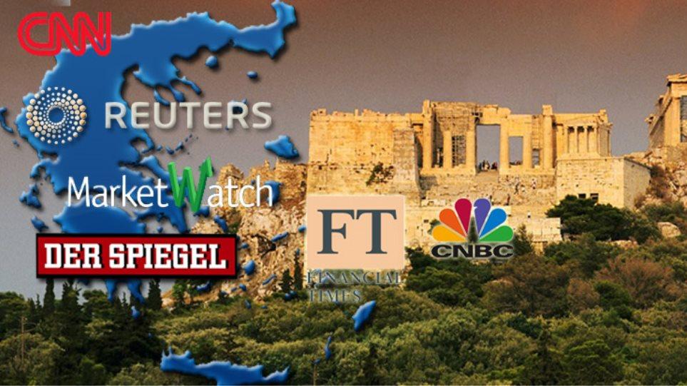 """ΜΜΕ και αγορές υποδέχονται θετικά το """"ναι"""" στο Μνημόνιο"""