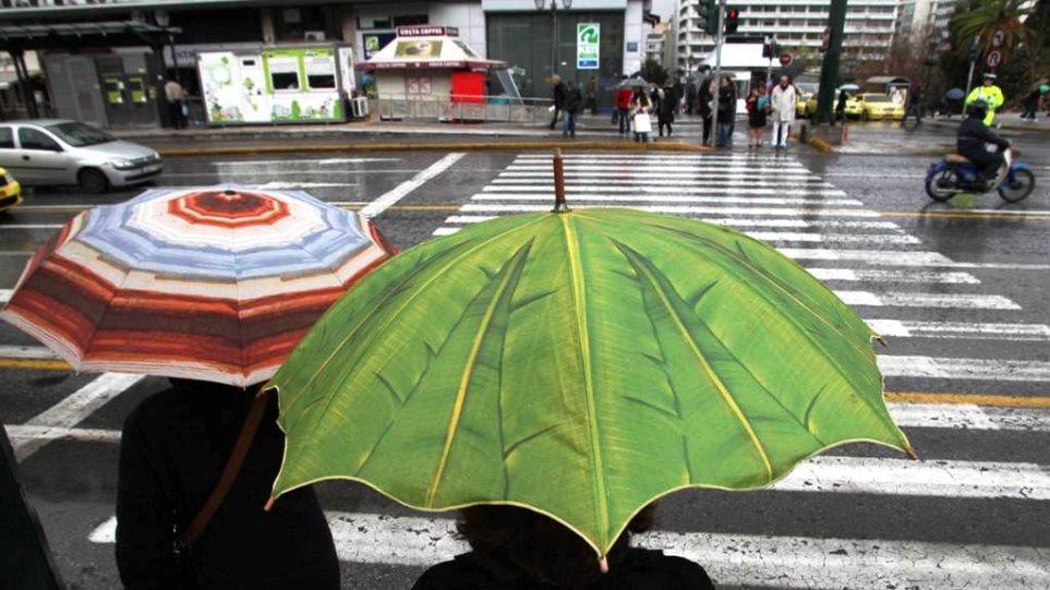 Πτώση της θερμοκρασίας και βροχές την Τετάρτη
