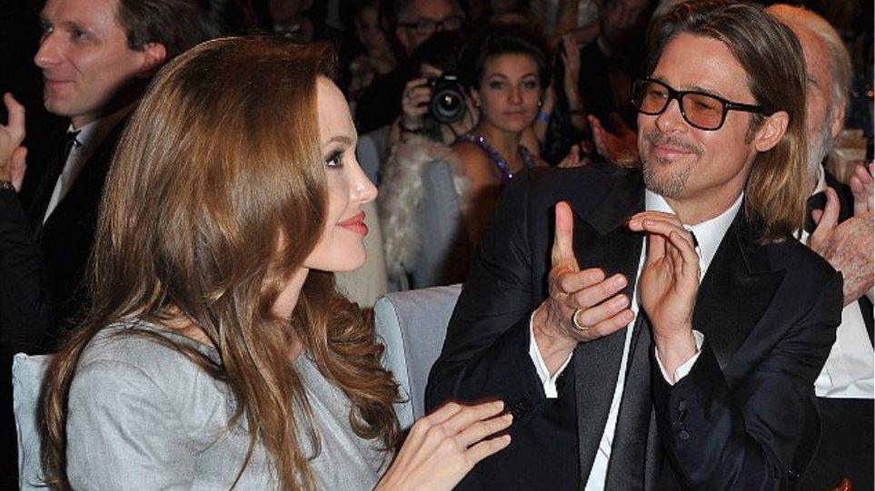 Το καμάρι του Brad για την Angelina του