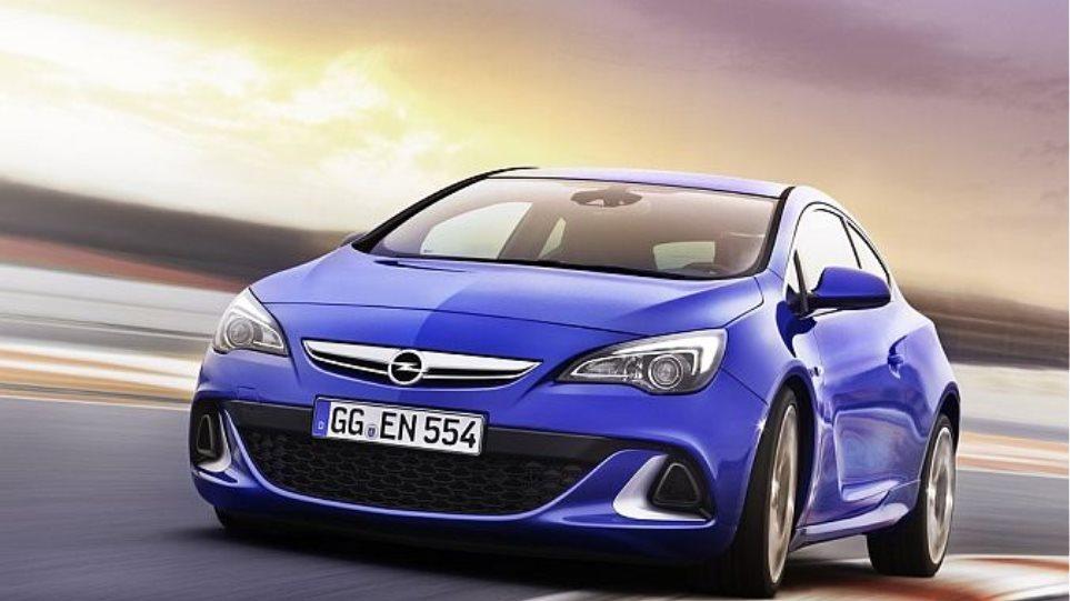Με 280PS το Opel Astra OPC (video)