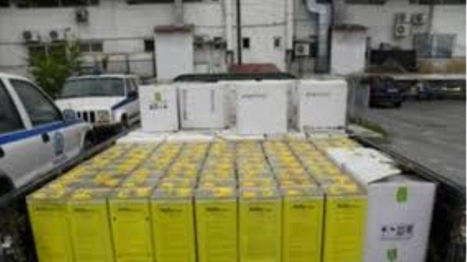Σέρρες: Κατασχέθηκε μισός τόνος λαθραίων φυτοφαρμάκων
