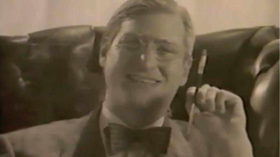 Ο Steve Jobs στο ρόλο του Roosevelt  το 1984