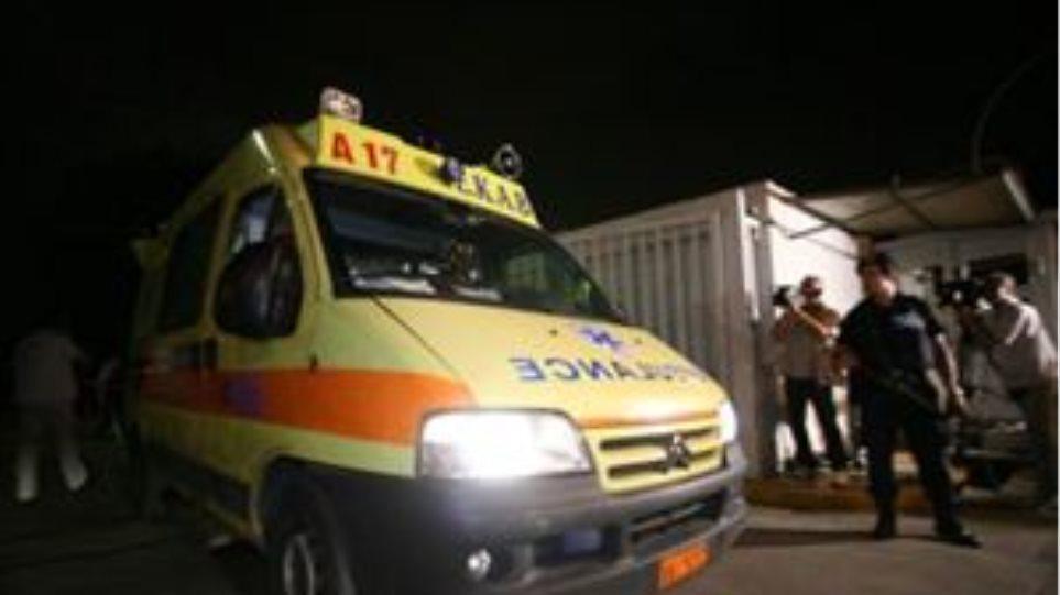 Δύο τραυματίες σε τροχαίο στην Κρήτη