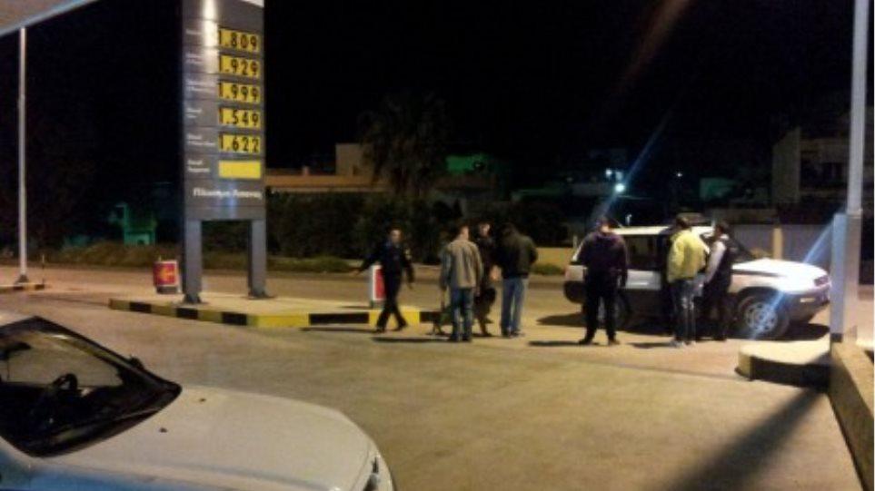Άφαντοι οι ληστές του βενζινάδικου στα Τρίκαλα